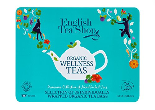 English Tea Shop Wellness Collection Blue Tin Envelopes, 54 - Lehigh Mall