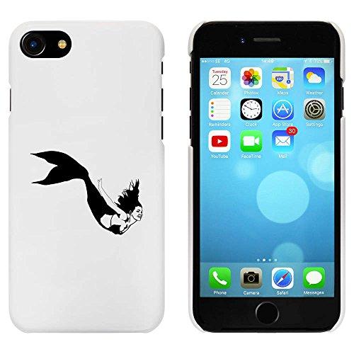 Blanc 'Belle Sirène' étui / housse pour iPhone 7 (MC00083847)