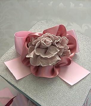 Pink flower hair accessories hair bows amazon beauty pink flower hair accessories hair bows mightylinksfo