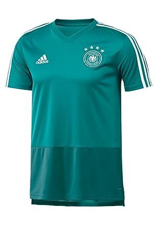 adidas Deutschland Trainingsshirt Jersey blaugrünweiß