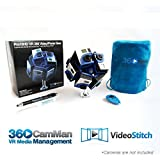 360Heros Pro10HD w/Software | VR Starter 360 Degree Video Creating Hardware Software Kit Pro10 360CamMan Video Stitch Studio