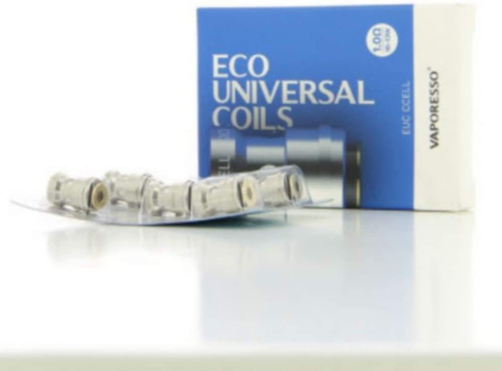 Pack de 5 resistencias de EUC Ccell 1ohm Vaporesso: Amazon.es: Salud y cuidado personal