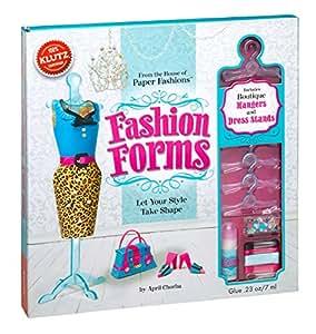 Klutz Fashion Forms Craft Kit