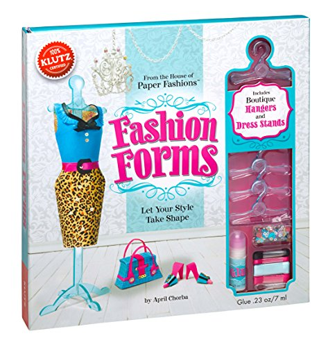 year old girl klutz fashion forms craft kit