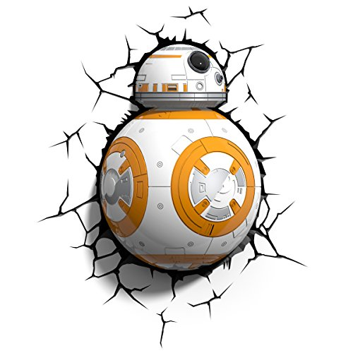 3DLightFX Star Wars BB-8 3D Deco ()