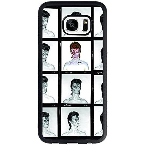 David Bowie Samsung Galaxy S7 Case, David Bowie Aladdin Sane Photo Shots TPU Case Sales
