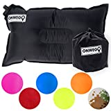 Camping Pillow / Inflatable Air Pillow-- 20in x 12in, 10.5oz,...