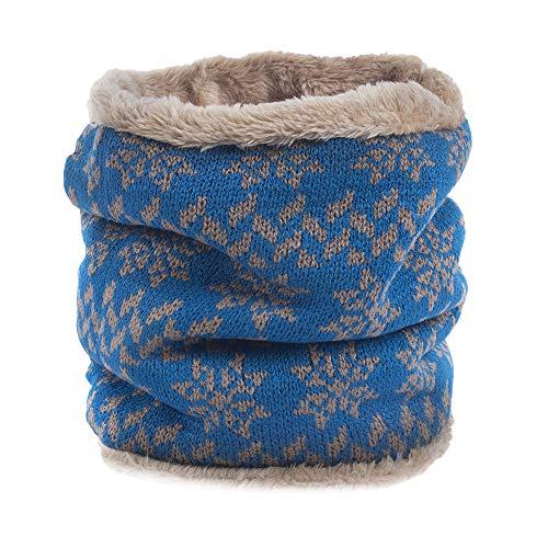 Promotions Women Men Knit Cotton Warm Soft Cowl Neck Mohair Scarf Shawl Winter Bandanas ODGear