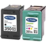HP 350 & 351XL Remanufactured Ink Cartridges for use with HP Photosmart C4205, C4270, C4272, C4280, C4340, C4380, C4390, C4472, C4480, C4485, C4580, C4585, C4599, C4424, C4524, C5280, C5288 & D5360 Printers by Ink Trader