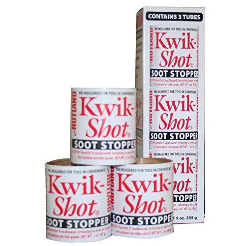 Kwik-Shot Soot Stopper Toss-In Canister 3 Oz. Each - Kwik Shot Soot Stopper