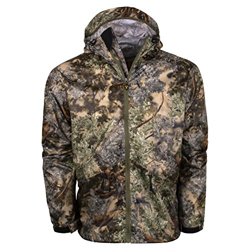 King's Camo Climatex Rainwear Jacket, Mountain Shadow, Large/Regular (Rain Gear Hunting)