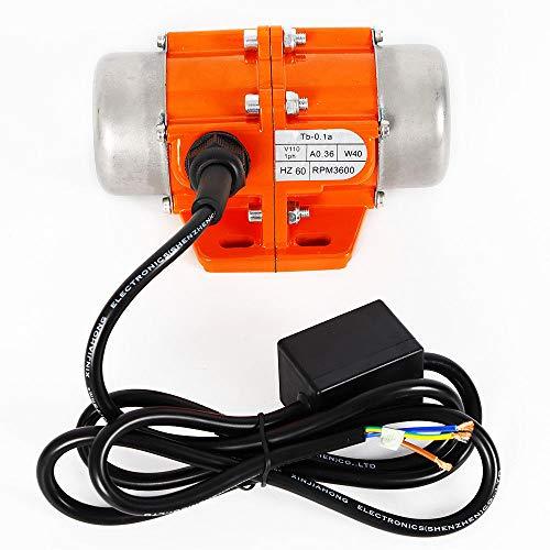 40/50/100W Vibration Motor AC110V 3600RPM Industrial Asynchronous Vibrator (40W)