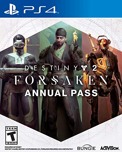 Destiny 2: Forsaken Annual Pass - PS4 [Digital Code] from Activision