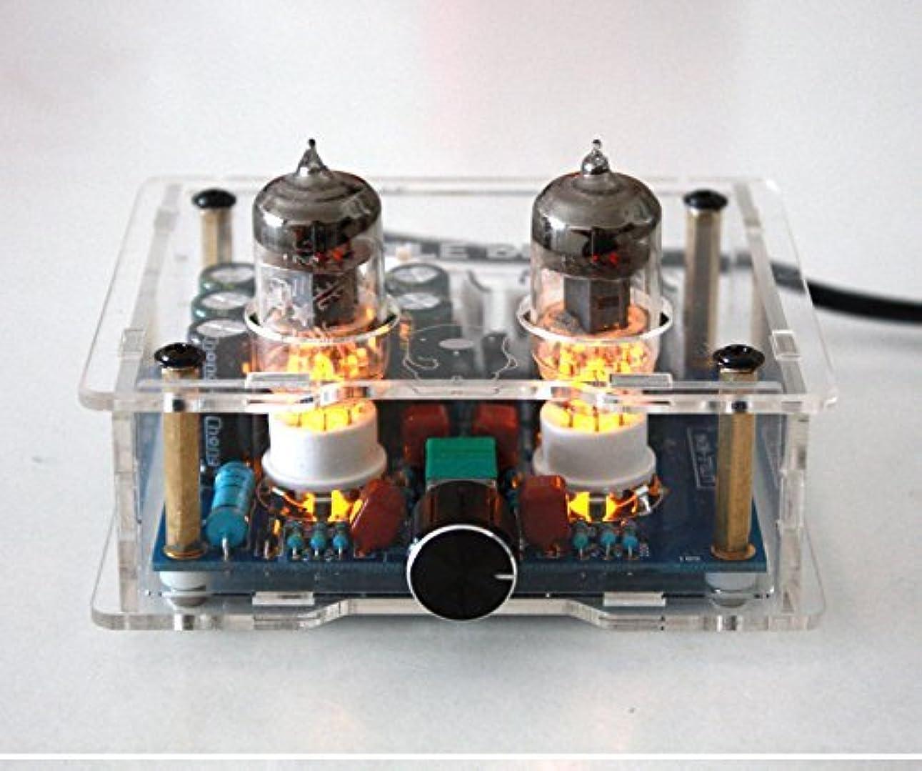 ボルト大統領算術FX-AUDIO TUBE-01 真空管プリアンプ HIFIオーディオ (ブラック)