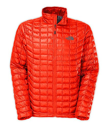 The North Face Thermoball Full Zip Jacket Men's Valencia Orange XXL