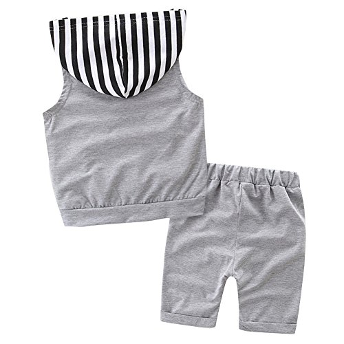 Leaves Shorts Summer Outfits Set Scfcloth Baby Boy Clothes Toddler Boy Hoodie Vest Top