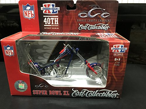 rs Superbowl XL (40) Detroit by Ertl Collectibles (Ertl Orange County Choppers)