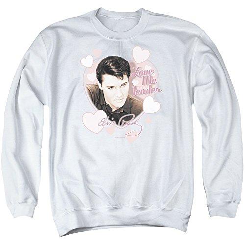 Elvis Presley - Love Me Tender - Adult Crewneck Sweatshirt - Small