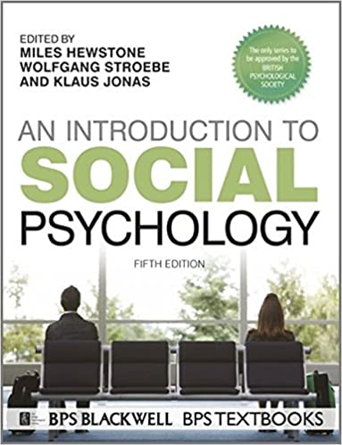 Buy An Introduction to Social Psychology (BPS Textbooks in