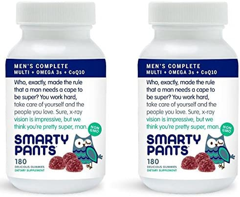 SmartyPants Gummy Vitamins SmartyPants Men s Complete Gummy Vitamins Multivitamin – 180 ct Pack of 2