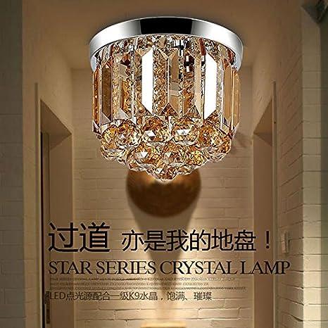 Nasen Simple cristal lámpara de techo pasillo pasillo ...