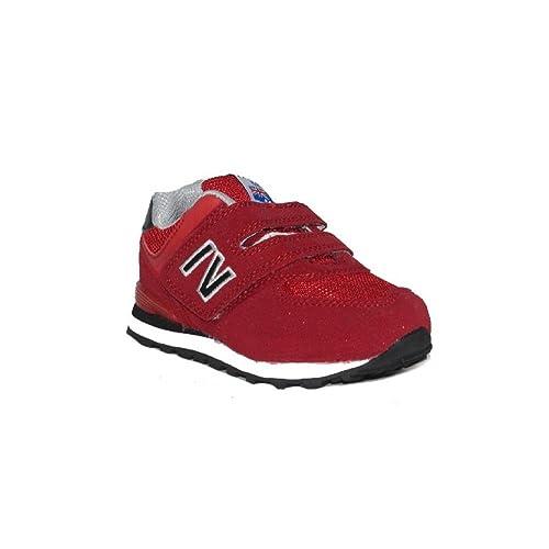 IV EXCELLENT New Brand 587-11 Zapatillas Niño Deportivas Niños Rojo: Amazon.es: Zapatos y complementos