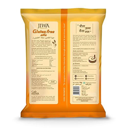 Jiwa Gluten Free Atta, 5 Kg, (1Kg x 5 Pack)