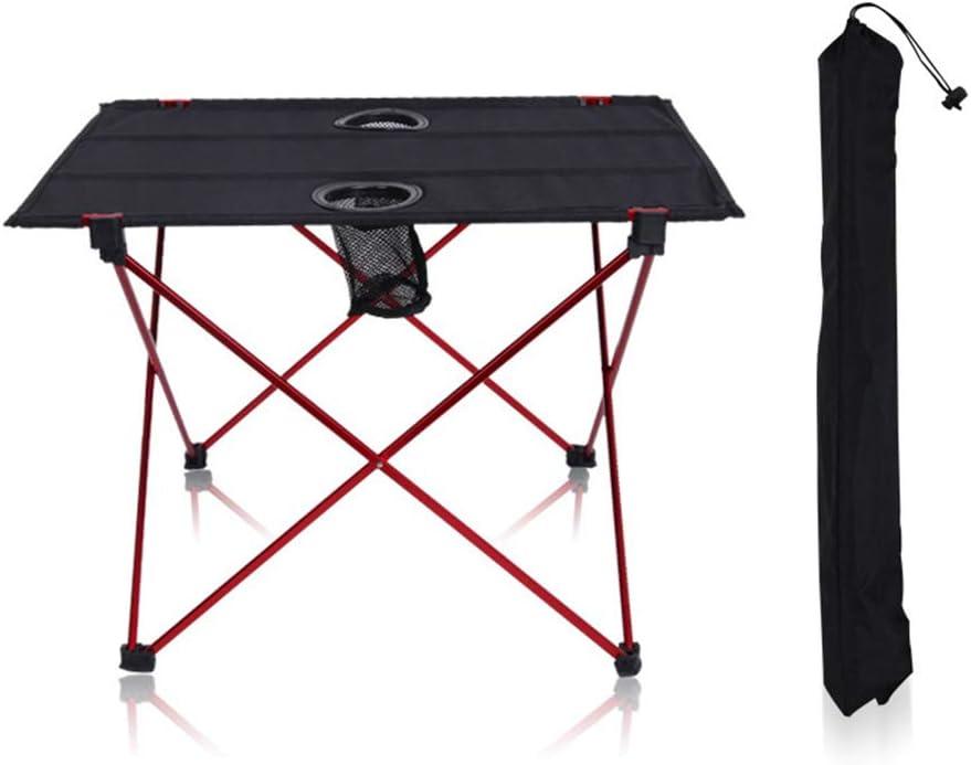 LQKYWNA Outdoor Klapptisch Tragbare Klapptisch mit Aluminium Rahmen Wasserdichten Doppel Oxford Cloth Tisch Veranstaltungen im Freien Reise Picknick Grill