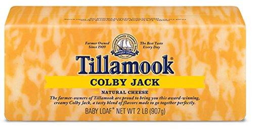 (Tillamook Cheese 2lb Baby Loaf (Choose Flavor Below) (Colby Jack))