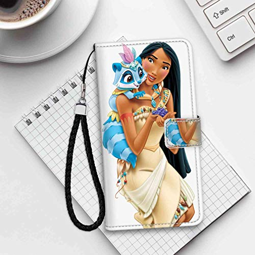 DISNEY COLLECTION Princess Pocahontas Wallet Case for Apple iPhone 6S or 6 4.7inch Durable]()