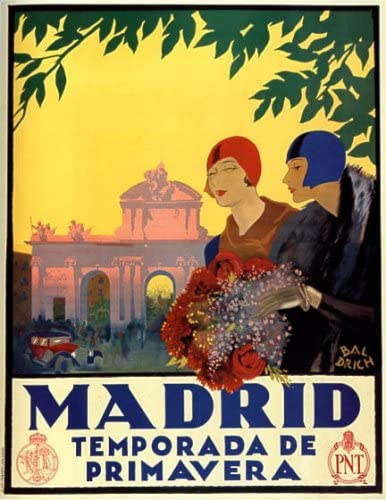 Madrid temporada de primavera Flores primavera viajes turismo ...