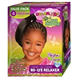 African Pride Dream Kids Olive Miracle Touch-Up Relaxer Corse Value Pack