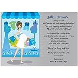 Shop Til You Drop Baby Baby Shower Invitations - Set...