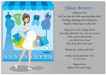 Shop Til You Drop Baby Baby Shower Invitations   Set Of 20