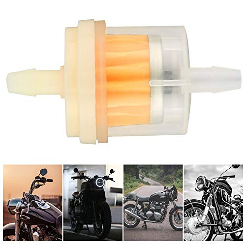 BFHCVDF 1 Unids//Lote Coche Dirt Pocket Bike Filtro de Aceite Gasolina Gasolina Gasolina Filtro de Combustible L/íquido para Scooter Motocicleta Moto Motor