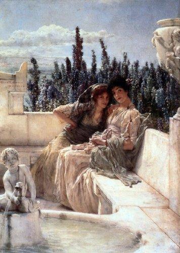 Sir Lawrence Alma-Tadema Whispering Noon - 18.1
