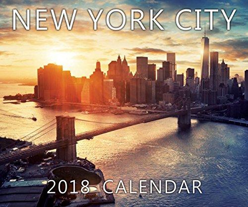 2018 Large Color New York City 20 Month Calendar NYC Color Photos NY Landmarks Calendar - 13