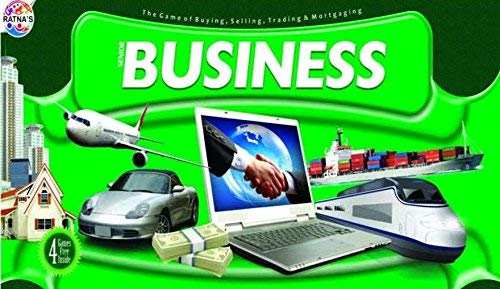 (Business Game Senior with Indian Currency Notes (4 More Games Free Inside))