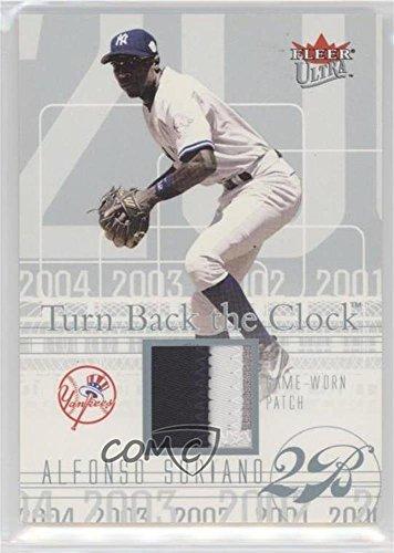 Platinum Clock - Alfonso Soriano #23/29 (Baseball Card) 2004 Fleer Ultra - Turn Back The Clock Jerseys - Platinum Patch #TBC-AS