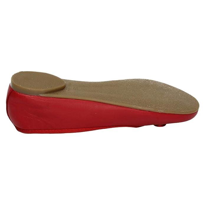 LORENA MASSÓ V18314 Manoletinas Rojas Mujer Manoletinas  Amazon.es  Zapatos  y complementos cba27a3e847d