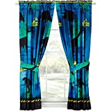 Jurassic World Window Panels Curtains Drapes, Set of 2