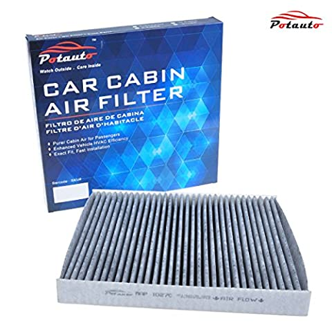 POTAUTO MAP 1027C Heavy Activated Carbon Car Cabin Air Filter Replacement compatible with DODGE, DODGE Durango, JEEP, Grand (2013 Jeep Parts)