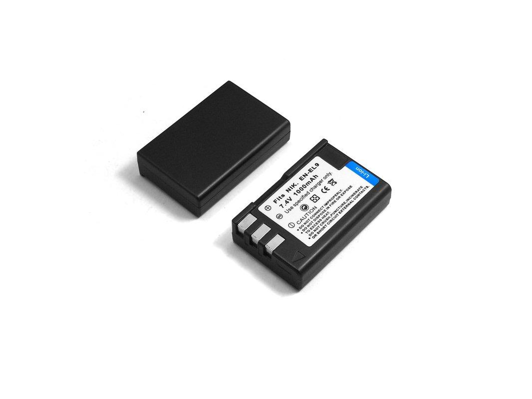 2x Battery EN-EL9//EN-EL9a for Nikon  D60 D40 D40X D5000 D3000 UK LOCAL