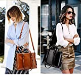 Leather Tote Bag for Women, PU Leather Fashion