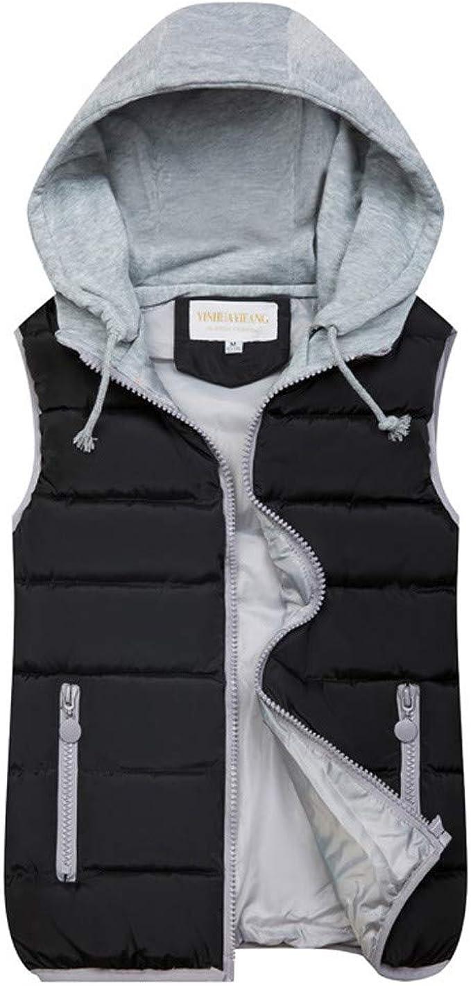 Womens Ladies Quilted Bodywarmer Gilet Gillet Sleeveless Coat Jacket Zip Up Top