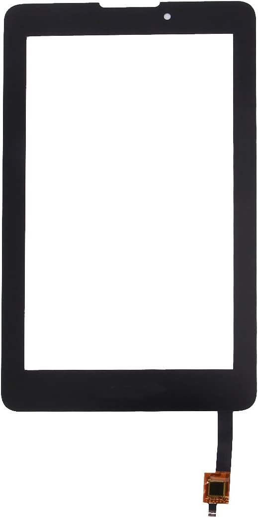 ZENGMING Repair Parts Touch Panel for Acer Iconia Tab 7 A1-713 (Black) Phone Replacement Parts (Color : Black)