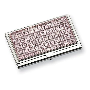 Pink glitter business card holder amazon sports outdoors pink glitter business card holder reheart Choice Image