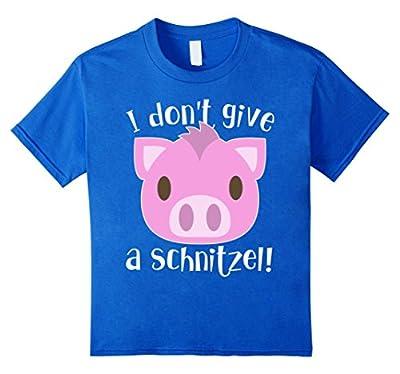 I Don't Give a Schnitzel T-Shirt / Oktoberfest Shirt 2016