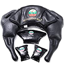Bulgarian Bag - Suples Strong Model (Genuine Leather) - The Original Bulgarian Bag Creator - Fitness bag, Crossfit, Wrestling, Functional Training bag, Sandbag, Powerbag, training bag.