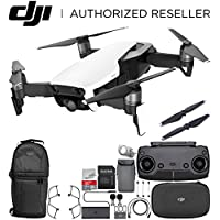 DJI Mavic Air Drone Quadcopter (Arctic White) Backpack Starters Bundle